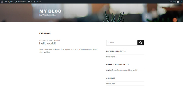 tema wordpress 2017