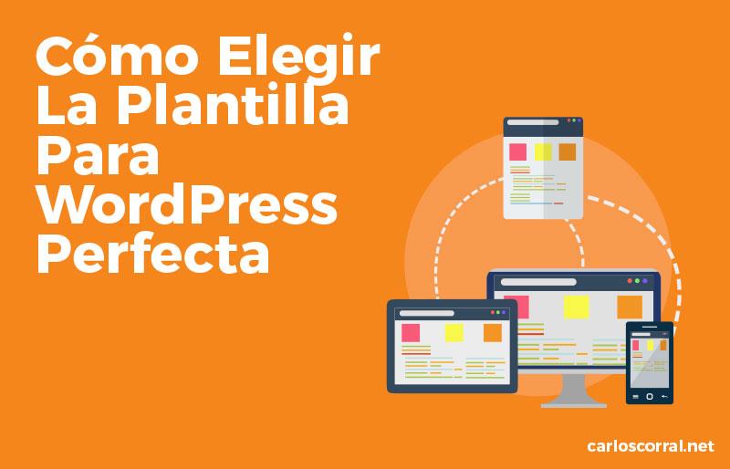 plantilla perfecta para wordpress
