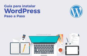 como instalar wordpress paso a paso guía tutorial