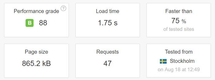 velocidad raiola hosting