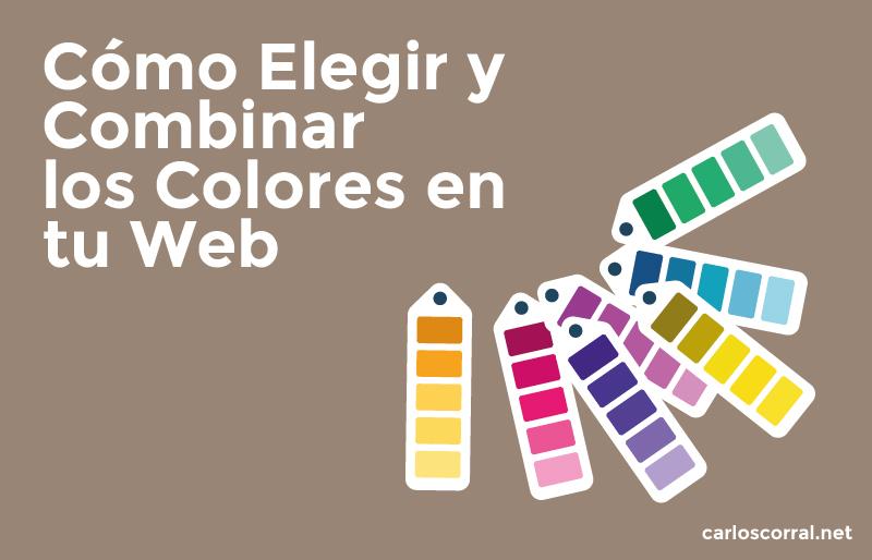 elegir combinar colores web