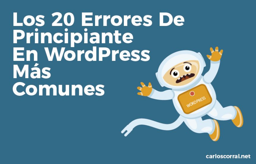 20 errores wordpress