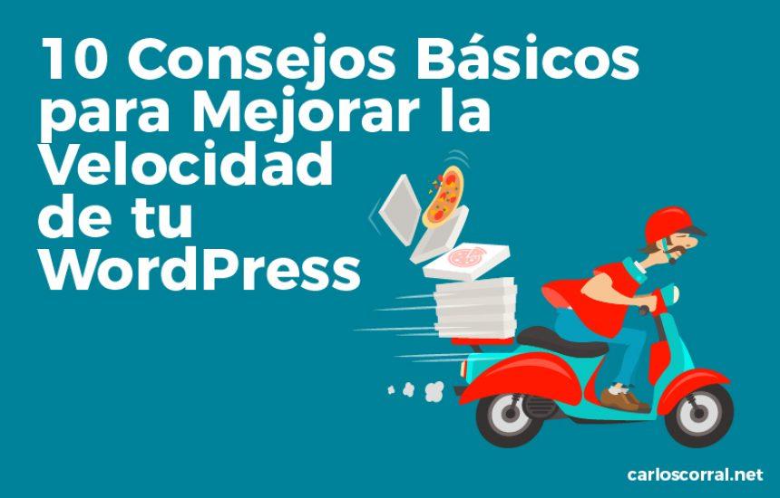 consejos velocidad wordpress
